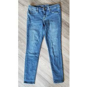 Mossimo | Mid Rise Dark Wash Skinny Jean